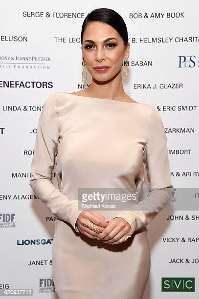 Actress Moran Atias attends Friends Of The Israel Defense Forces Western Region Gala at The Beverly Hilton Hotel on November 3 2016 in Beverly Hills...