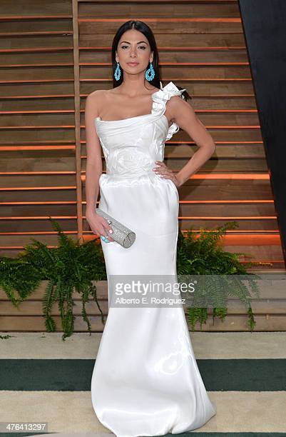 Actress Moran Atias attends the 2014 Vanity Fair Oscar Party hosted by Graydon Carter on March 2 2014 in West Hollywood California