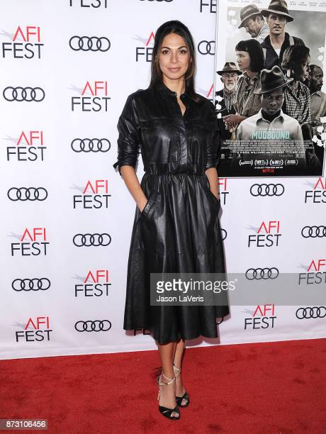 Actress Moran Atias attends the 2017 AFI Fest opening night gala screening of 'Mudbound' at TCL Chinese Theatre on November 9 2017 in Hollywood...