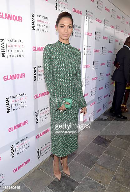 Actress Moran Atias attends the 4th Annual Women Making History Brunch presented by the National Women's History Museum and Glamour Magazine at...