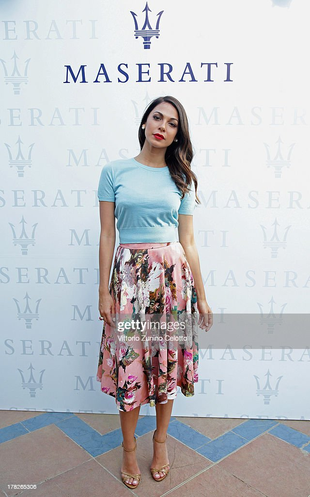 Actress Moran Atias attends the 70th Venice International Film Festival at Terrazza Maserati on August 28, 2013 in Venice, Italy.