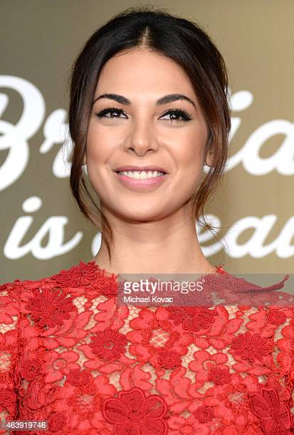 Actress Moran Atias attends the 8th annual Hollywood Domino Gala presented by BOVET 1822 benefiting artists for peace and justice at the Sunset Tower...