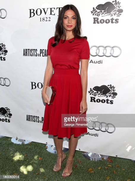 Actress Moran Atias attends the Artists For Peace And Justice Brunch during the 2013 Toronto International Film Festival at on September 8 2013 in...