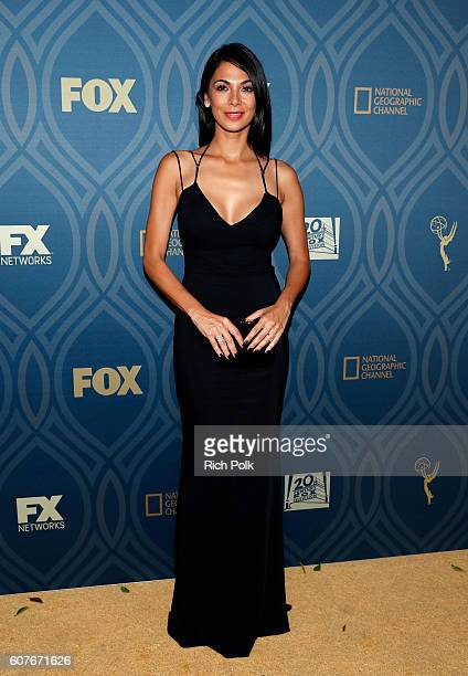 Actress Moran Atias attends the FOX Broadcasting Company FX National Geographic And Twentieth Century Fox Television's 68th Primetime Emmy Awards...