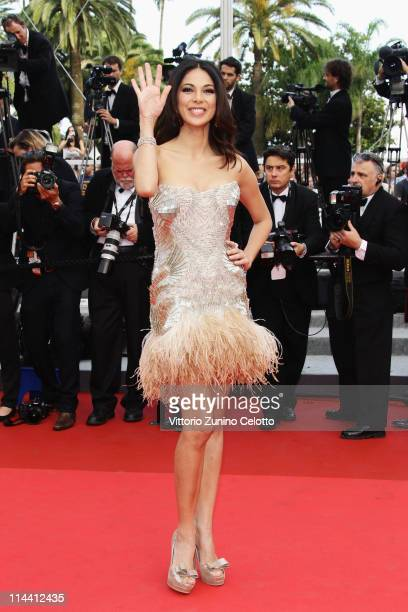Actress Moran Atias attends the The Skin I Live In premiere at the Palais des Festivals during the 64th Cannes Film Festival on May 19 2011 in Cannes...