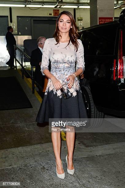 Actress Moran Atias enters the AOL Studios on July 19 2016 in New York City