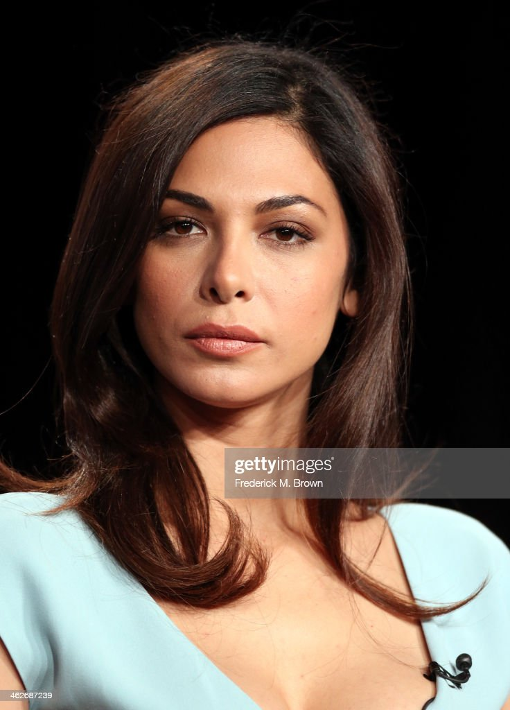 Actress Moran Atias of the television show 'Tyrant' speaks onstage during the FX portion of the 2014 Television Critics Association Press Tour at the Langham Hotel on January 14, 2014 in Pasadena, California.