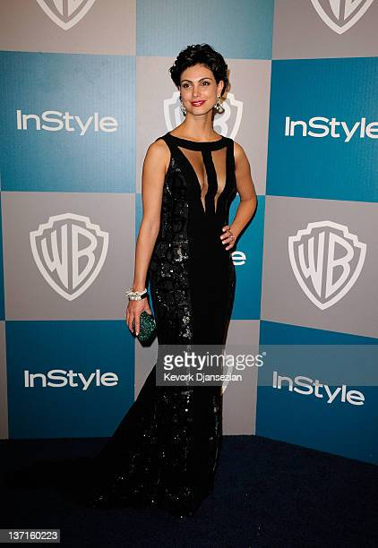 Actress Morena Baccarin arrives at 13th Annual Warner Bros And InStyle Golden Globe Awards After Party at The Beverly Hilton hotel on January 15 2012...
