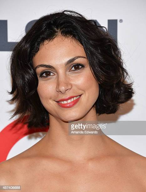 Actress Morena Baccarin arrives at the 10th Annual GLSEN Respect Awards at the Regent Beverly Wilshire Hotel on October 17 2014 in Beverly Hills...