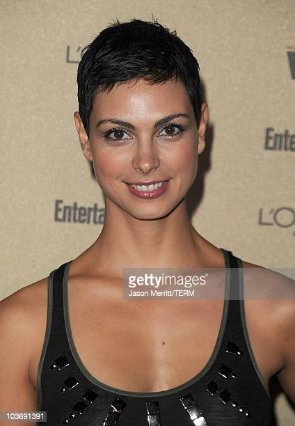 Actress Morena Baccarin arrives at the 2010 Entertainment Weekly and Women In Film PreEmmy party sponsored by L'Oreal Paris at Restaurant at The...