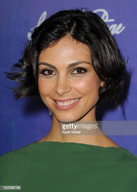 Actress Morena Baccarin arrives at Variety and Women in Film PreEMMY Event presented by Saint Vintage at Scarpetta Beverly Hills on September 21 2012...