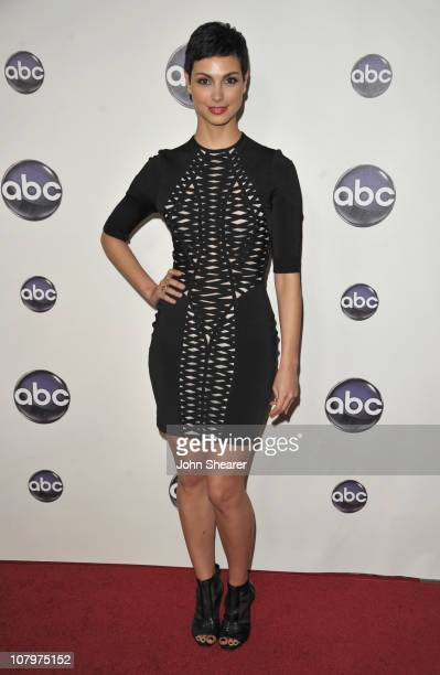 Actress Morena Baccarin arrives to the Disney ABC Television Group Winter Press Tour at the Langham Hotel on January 10 2011 in Pasadena California