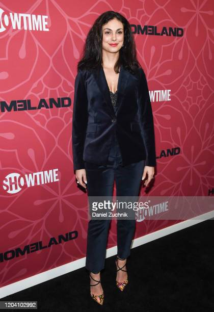 Actress Morena Baccarin attends Showtime's Homeland Season 8 premiere at Museum of Modern Art on February 04 2020 in New York City
