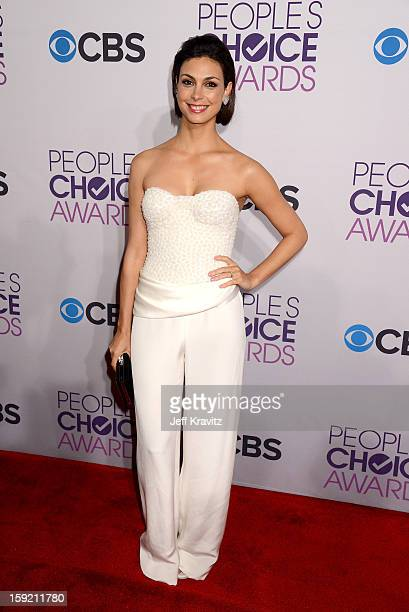 Actress Morena Baccarin attends the 2013 People's Choice Awards at Nokia Theatre LA Live on January 9 2013 in Los Angeles California