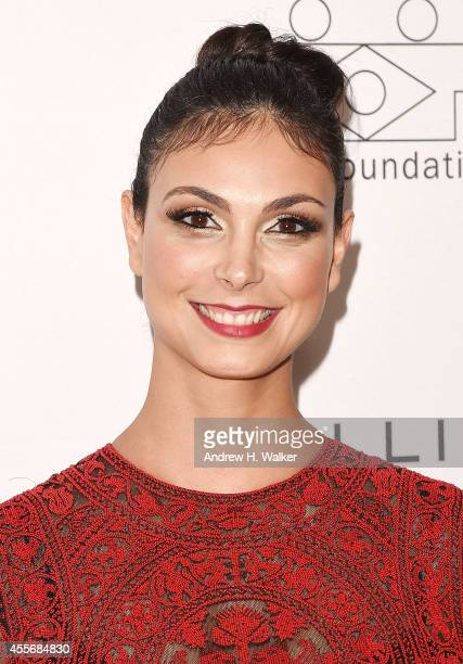 Actress Morena Baccarin attends the 2014 BrazilFoundation Gala at Lincoln Center on September 18 2014 in New York City