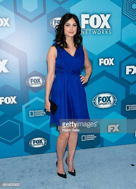 Actress Morena Baccarin attends the 2016 Fox Upfront at Wollman Rink Central Park on May 16 2016 in New York City