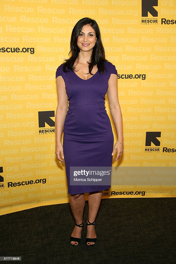 Actress Morena Baccarin attends the 6th Annual GenR Summer Party Hosted By International Rescue Committee at Tribeca Rooftop on July 19, 2016 in New York City.