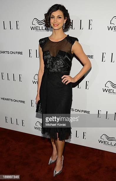 Actress Morena Baccarin attends the ELLE's Women in Television Celebration at Soho House on January 24 2013 in West Hollywood California