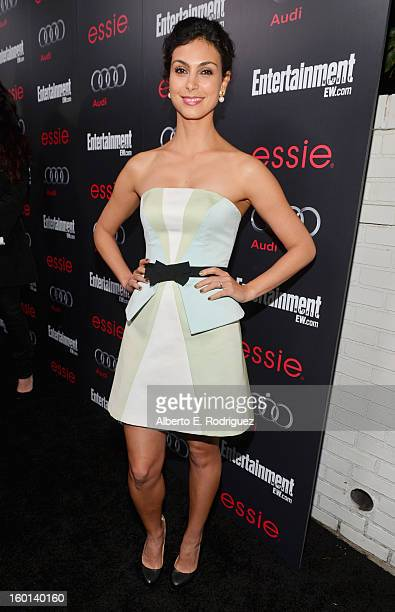 Actress Morena Baccarin attends the Entertainment Weekly PreSAG Party hosted by Essie and Audi held at Chateau Marmont on January 26 2013 in Los...