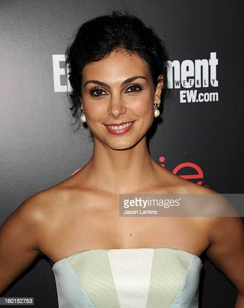 Actress Morena Baccarin attends the Entertainment Weekly Screen Actors Guild Awards preparty at Chateau Marmont on January 26 2013 in Los Angeles...