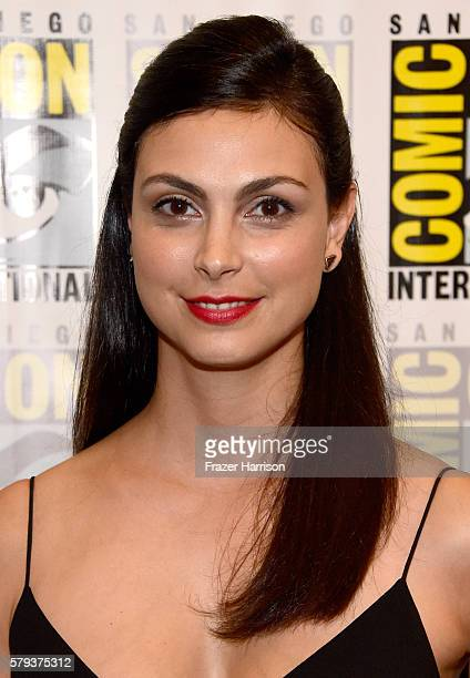 Actress Morena Baccarin attends the 'Gotham' press line during ComicCon International 2016 at Hilton Bayfront on July 23 2016 in San Diego California