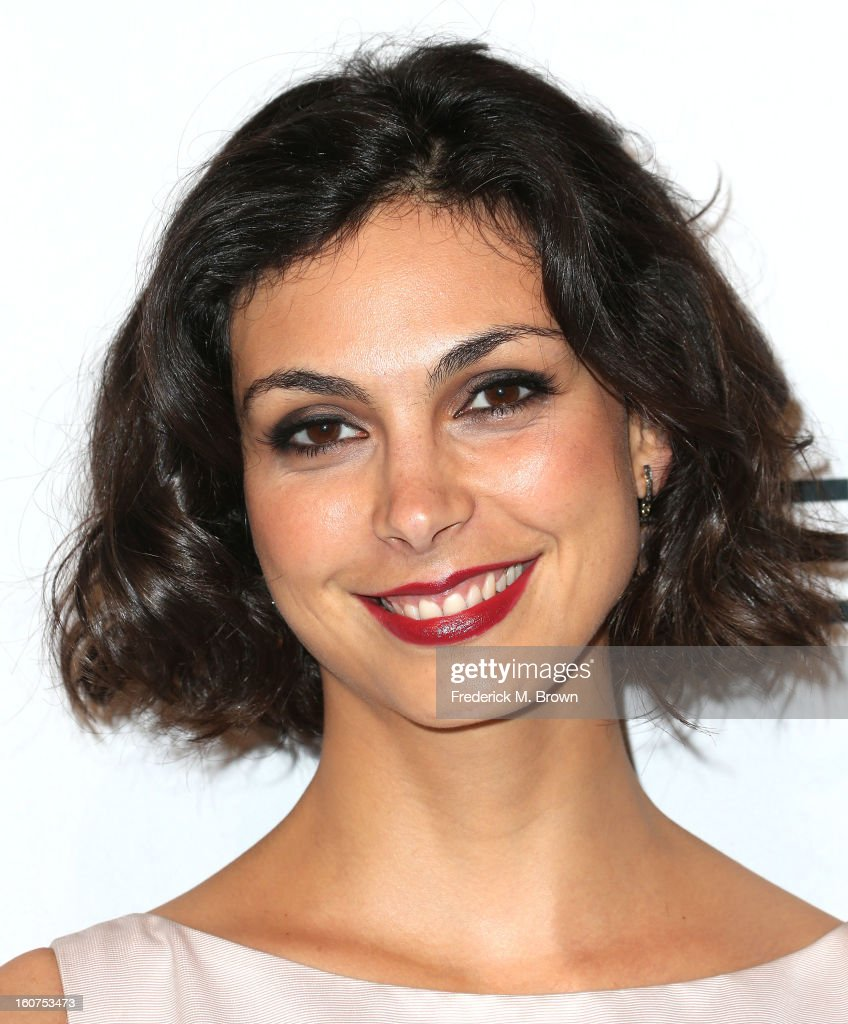 Actress Morena Baccarin attends The Hollywood Reporter Nominees' Night 2013 Celebrating The 85th Annual Academy Award Nominees at Spago on February 4, 2013 in Beverly Hills, California.