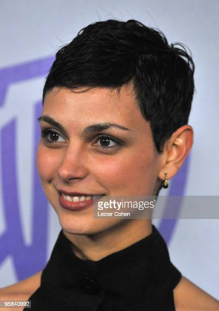 Actress Morena Baccarin attends the InStyle and Warner Bros 67th Annual Golden Globes post party held at the Oasis Courtyard at The Beverly Hilton...