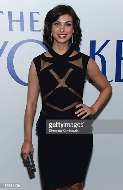 Actress Morena Baccarin attends The New Yorker's David Remnick Hosts White House Correspondents' Dinner Weekend PreParty at W Hotel Rooftop on April...