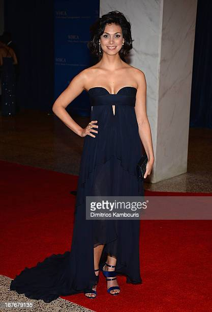 Actress Morena Baccarin attends the White House Correspondents' Association Dinner at the Washington Hilton on April 27 2013 in Washington DC