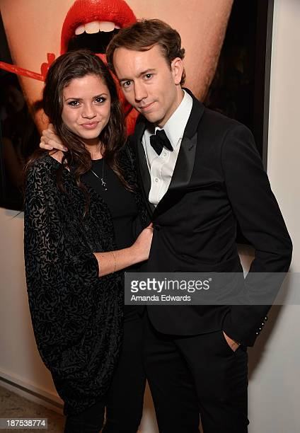 Actress Morgan Eastwood and photographer Tyler Shields attend the launch party for Shields's new book The Dirty Side Of Glamour at Guy Hepner Gallery...