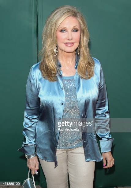 Actress Morgan Fairchild attends the Hallmark Channel and Hallmark Movie Channel's 2013 Summer TCA Party on July 8 2014 in Beverly Hills California