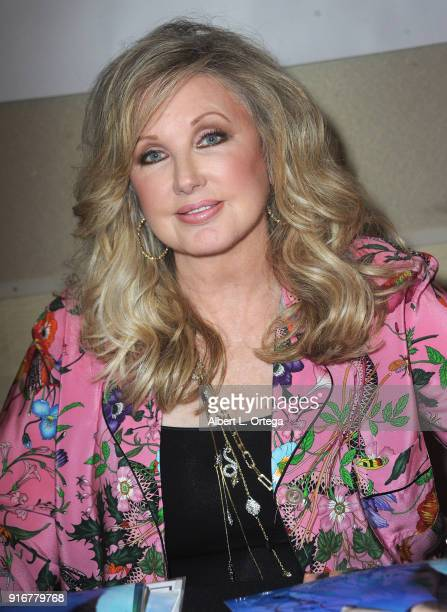 Actress Morgan Fairchild attends The Hollywood Show held at Westin LAX Hotel on February 10 2018 in Los Angeles California