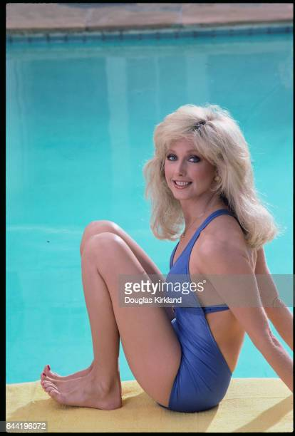 Actress Morgan Fairchild Wearing Bathing Suit