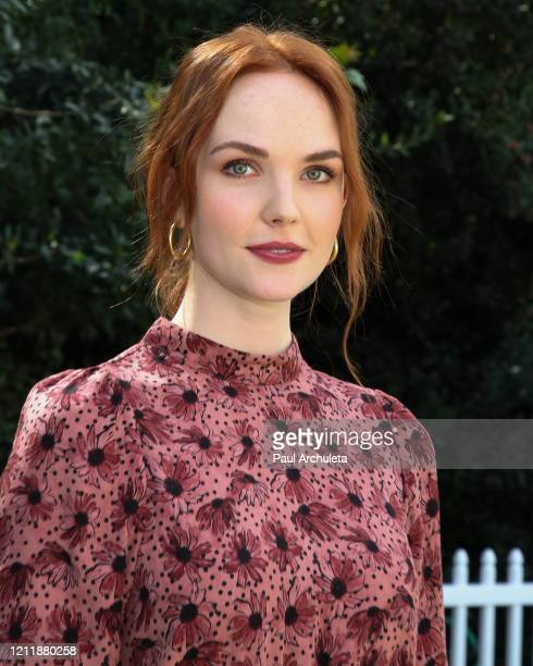 Actress Morgan Kohan visits Hallmark Channel's Home Family at Universal Studios Hollywood on March 11 2020 in Universal City California