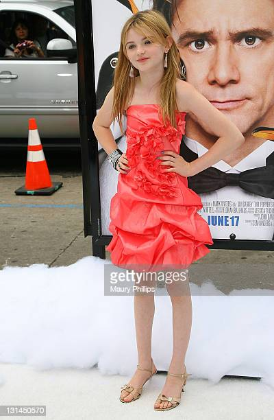 Actress Morgan Lily arrives at Mr Poppers Penguins Los Angeles Premiere at Grauman's Chinese Theatre on June 12 2011 in Hollywood California
