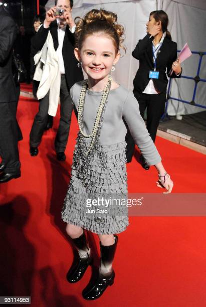 Actress Morgan Lily attends 2012 Japan Premiere at Roppongi Hills Arena on November 17 2009 in Tokyo Japan The film will open on November 21 in Japan