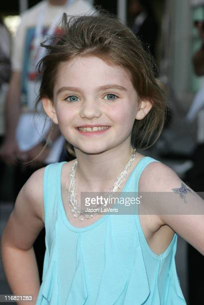 Actress Morgan Lily attends Overture Films' Premiere of Henry Poole is Here at Arclight Cinemas on August 7 2008 in Los Angeles California