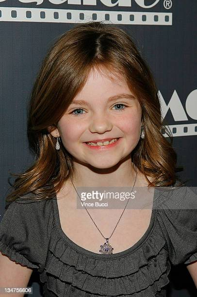 Actress Morgan Lily attends the 17th Annual Movieguide Faith and Values Awards at the Beverly Hilton Hotel on February 11 2009 in Beverly Hills...