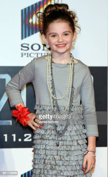 Actress Morgan Lily attends the 2012 Japan Premiere at Roppongi Hills on November 17 2009 in Tokyo Japan The film will open on November 21 in Japan