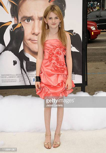 Actress Morgan Lily attends the premiere of Mr Popper's Penguins at Grauman's Chinese Theatre on June 12 2011 in Hollywood California