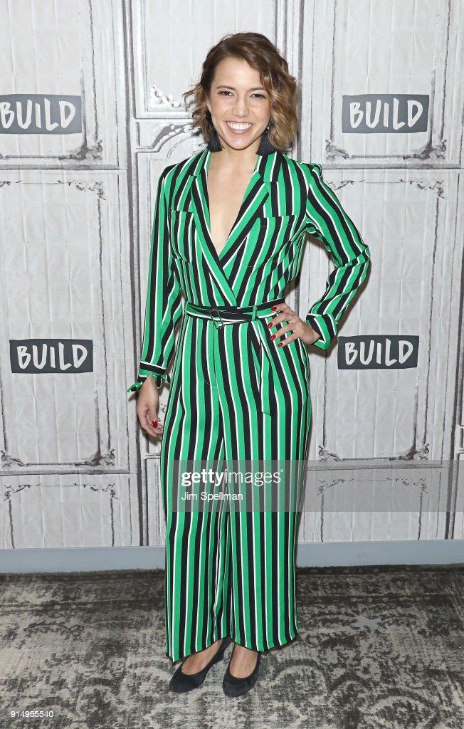Celebrities Visit Build - February 6, 2018 : News Photo