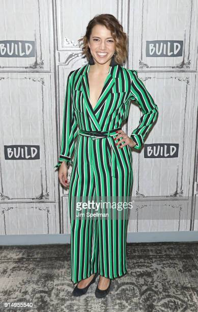 Actress Morgan Marcell attends the Build Series to discuss Sharing Our Stories The Eliza Project at Build Studio on February 6 2018 in New York City