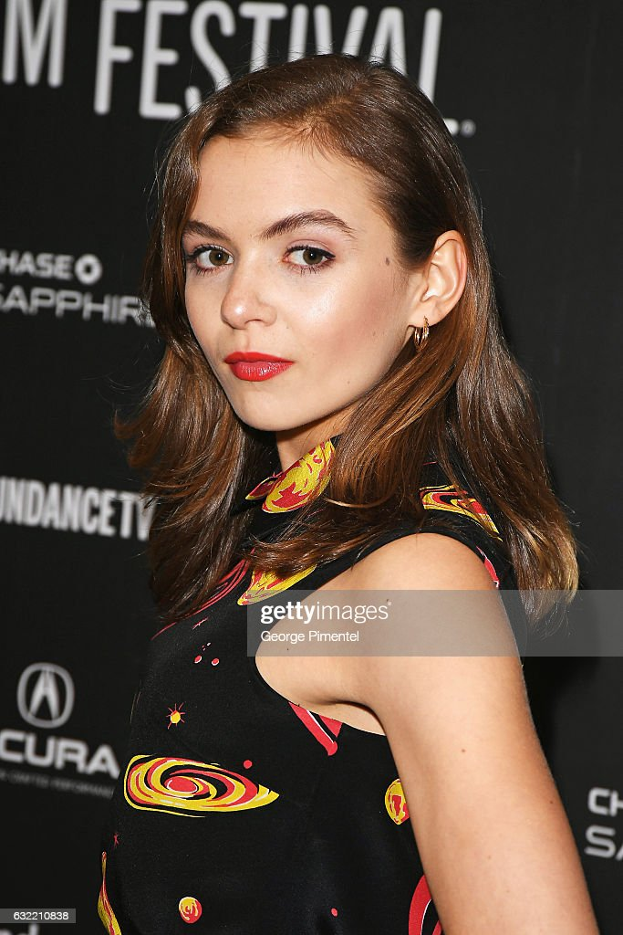 Actress, Morgan Saylor attends the 'Novitate' premiere during day 2 of the 2017 Sundance Film Festival at Eccles Center Theatre on January 20, 2017 in Park City, Utah.