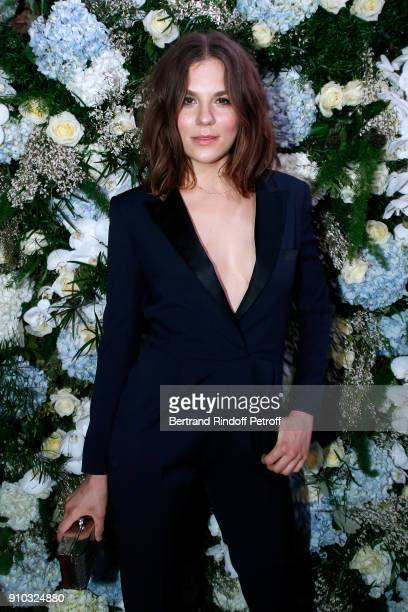 Actress Morgane Polanski attends the 16th Sidaction as part of Paris Fashion Week on January 25 2018 in Paris France