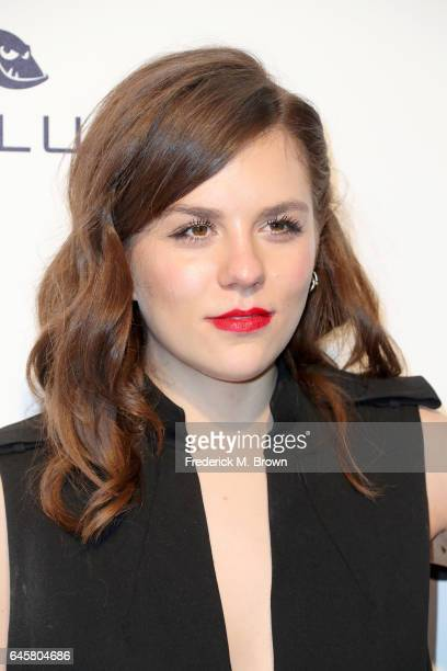 Actress Morgane Polanski attends the 25th Annual Elton John AIDS Foundation's Academy Awards Viewing Party at The City of West Hollywood Park on...