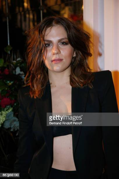 Actress Morgane Polanski attends the Annual Charity Dinner hosted by the AEM Association Children of the World for Rwanda at Pavillon Ledoyen on...
