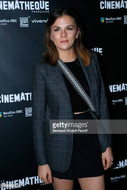 Actress Morgane Polanski attends the Tribute to Roman Polanski Held with a Retrospective of the Director's Work at Cinematheque Francaise on October...