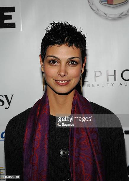 Actress Morina Baccarin attends the Death in Love Party sponsored by AMC at the Hollywood Life House on January 22 2008 in Park City Utah