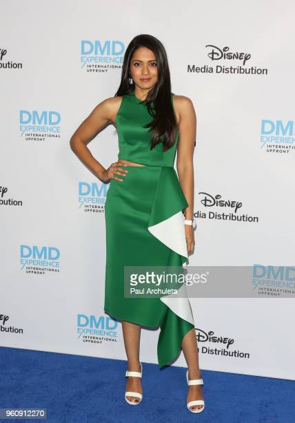 Actress Mouzam Makkar attends the Disney/ABC International Upfronts at the Walt Disney Studio Lot on May 20 2018 in Burbank California