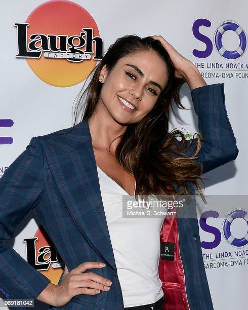 Actress Moyale attends the SarcomaOma Foundation Comedy Benefit at The Laugh Factory on June 6 2018 in West Hollywood California